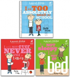 Charlie and Lola Series 3 Books Collection by Lauren Child Photo