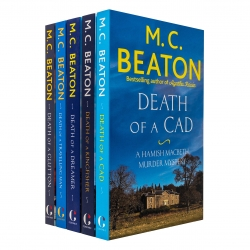 M C Beaton Hamish Macbeth Series 5 Books Collection Set Death of a King, Death of a Cad, Death of a Dreamer and More Photo