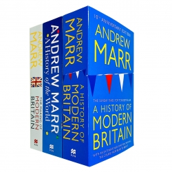 Andrew Marr Collection 3 Books Set (A History of Modern Britain, The Making of Modern Britain, A History of the World) Photo
