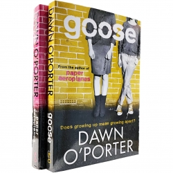 Paper Aeroplanes Series by Dawn O Porter 2 Books Collection Set (Paper Aeroplanes & Goose) Photo