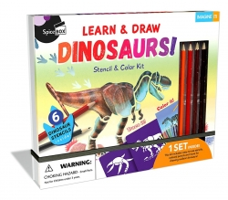 Dinosaurs Colour Kit learn And Draw Dinosaurs Photo