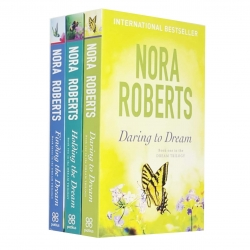 Nora Roberts Dream Trilogy Collection 3 Books Set (Daring To Dream, Holding The Dream, Finding The Dream) Photo