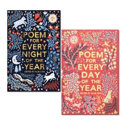 Allie Esiri 2 Books Collection Set (A Poem for Every Night of the Year & A Poem for Every Day of the Year) Photo