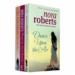 Three Sisters Island Trilogy Collection 3 Books Set By Nora Roberts (Dance Upon The Air, Heaven And Earth, Face The Fire) Photo