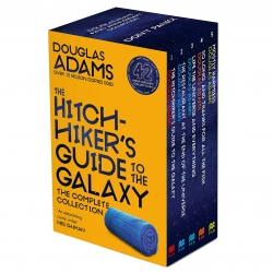 The Complete Hitchhiker's Guide to the Galaxy Boxset by Douglas Adams NEW COVER Photo