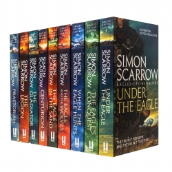 Eagles of the Empire Series Series 9 Books Collection Set by Simon Scarrow Photo