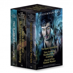 Cassandra Clare Shadowhunters Collection 3 Books Set (The Bane Chronicles, Tales from the Shadowhunter Academy, Ghosts of the Shadow Market) Photo