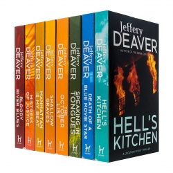 Jeffery Deaver Collection 8 Books Set Mistress of Justice, Bloody River Blues, Shallow Graves Photo