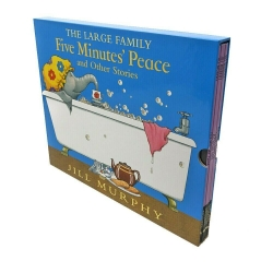 The Large Family Five Minutes Peace 5 Books Box Set by Jill Murphy Photo