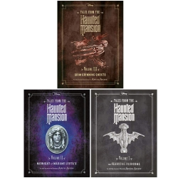 Tales from the Haunted Mansion Series 3 Books Collection Set (Fearsome Foursome, Midnight at Madame Leota, Grim Grinning Ghosts) by Disney