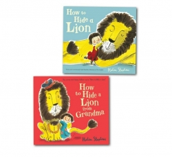 Helen Stephens Collection 2 Books Set (How to Hide a Lion, How to Hide a Lion from Grandma) Photo