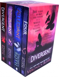 Divergent Insurgent Allegiant 4 Books Collection Box Set by Veronica Roth by Veronica Roth
