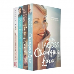 Anna Jacobs Collection 4 Books Set (Changing Lara, Finding Cassie, A Daughters Journey, An Independent Woman) Photo