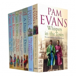 Pamela Evans Collection 7 Books Set (When the Lights Go Down, The Apple of her Eye, Dance Your Troubles Away, On Her Own Two Feet and More) Photo