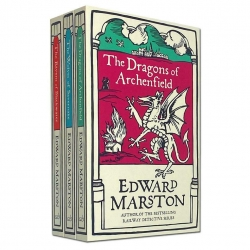 Edward Marston Domesday Series Collection 3 Books Set (The Wolves of Savernake, The Ravens of Blackwater, The Dragons of Archenfield) Photo