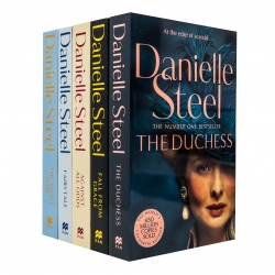 Danielle Steel Collection 5 Books Set (The Right Time, Against All Odds, Fall From Grace, The Duchess, Fairytale) Photo