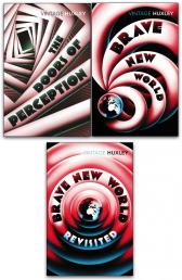 Aldous Huxley 3 Books Collection Set (The Doors of Perception, Brave New World, Brave New World Revisited) Photo