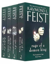 Raymond E Feist The Serpentwar Saga 4 Books Complete Collection Set - Shadow of a Dark Queen, Rise of a Merchant Prince and More Photo