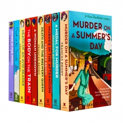 Kate Shackleton Mysteries Collection Frances Brody 9 Books Set by Frances Brody Photo