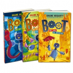 Boot Series 3 Books Set Collection by Shane Hegarty Photo