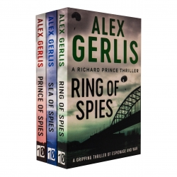 Alex Gerlis Richard Prince Thrillers 3 Books Collection Set (Ring of Spies, Sea of Spies, Prince of Spies) Photo