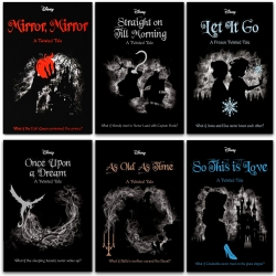 Disney Twisted Tales Collection 6 Books Collection Set - Mirror Mirror, Once Upon a Dream, As Old As Time, Straight on Till Morning and More by Jen Calonita, Liz Braswell, Elizabeth Lim