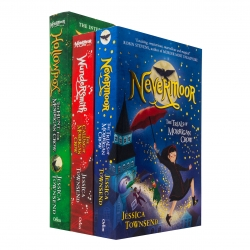 Morrigan Crow Series Collection 3 Books Set by Jessica Townsend (Hollowpox, Nevermoor, Wundersmith) Photo