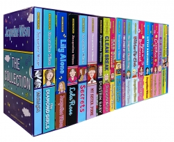 Jacqueline Wilson Collection 21 Books Set Double Act, Candyfloss, Rent a Bridesmaid, Cookie, Little Darlings, Best Friends Photo