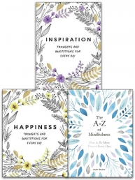Happiness, Inspiration, The A-Z of Mindfulness 3 Books Collection Set Photo