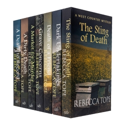 West Country Mysteries Collection 7 Books Set Pack By Rebecca Tope Photo