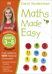 Maths Made Easy: Numbers, Ages 3-5 (Preschool) Photo