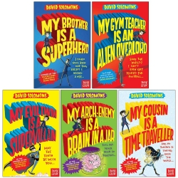 My Brother is a Superhero Series 5 Books Collection Set By David Solomons Photo