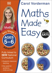 Maths Made Easy: Advanced, Ages 5-6 (Key Stage 1) Photo