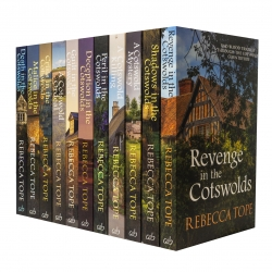 The Cotswold Mysteries Collection Rebecca Tope 11 Books Set Photo