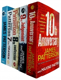 James Patterson Collection Women's Murder Club 6 to 10 5 Books Set (The 6th Target,7th Heaven,8th Confession,9th Judgement,10th Anniversary) Photo
