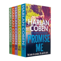 Harlan Coben Collection 5 Books Set Series 2 - The Final Detail, Darkest Fear, Promise Me, Long Lost, Live Wire Photo