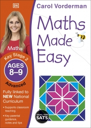 Maths Made Easy: Advanced, Ages 8-9 (Key Stage 2) Photo