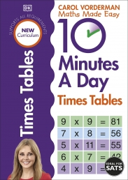 10 Minutes A Day Times Tables, Ages 9-11 (Key Stage 2) Photo