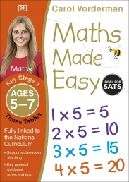 Maths Made Easy: Times Tables, Ages 5-7 (Key Stage 1) Photo