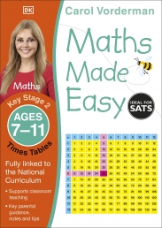 Maths Made Easy: Times Tables, Ages 7-11 (Key Stage 2) Photo