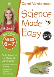 Science Made Easy, Ages 6-7 (Key Stage 1) : Supports the National Curriculum, Science Exercise Book by Carol Vorderman Photo