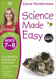 Science Made Easy, Ages 7-8 (Key Stage 2) : Supports the National Curriculum, Science Exercise Book by Carol Vorderman Photo