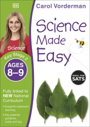 Science Made Easy, Ages 8-9 (Key Stage 2) : Supports the National Curriculum, Science Exercise Book by Carol Vorderman Photo