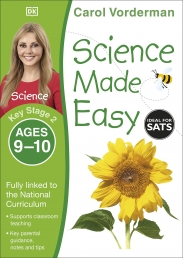 Science Made Easy, Ages 9-10 (Key Stage 2) : Supports the National Curriculum, Science Exercise Book by Carol Vorderman Photo