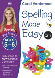 Spelling Made Easy, Ages 5-6 (Key Stage 1) Photo