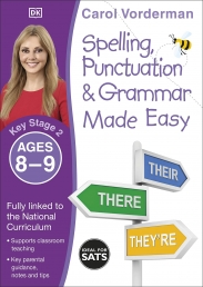 Spelling, Punctuation & Grammar Made Easy, Ages 8-9 (Key Stage 2) Photo