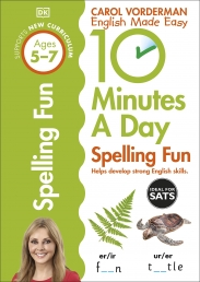 10 Minutes A Day Spelling Fun, Ages 5-7 (Key Stage 1) Photo