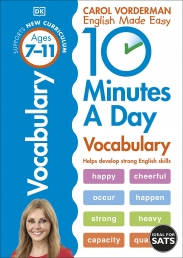 10 Minutes A Day Vocabulary, Ages 7-11 (Key Stage 2) Photo