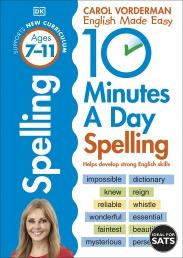 10 Minutes A Day Spelling, Ages 7-11 (Key Stage 2) Photo