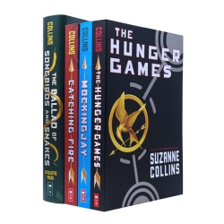 Hunger Games Trilogy Series 4 Books Collection Set By Suzanne Collins NEW COVER Photo
